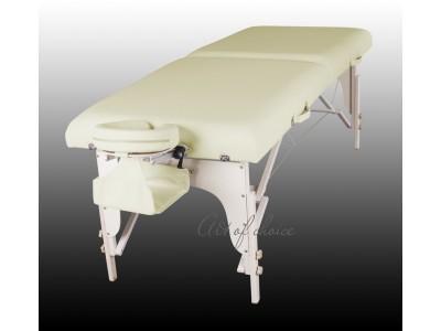 Стол массажный деревянный 2х секционный люкс ART