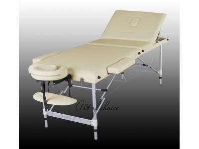 Стол для массажа 3х секционный алюминиевый JOY Comfort