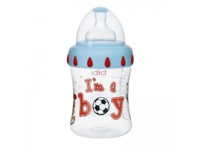 Бутылочка для мальчиков I'm a boy,125 мл. bibi