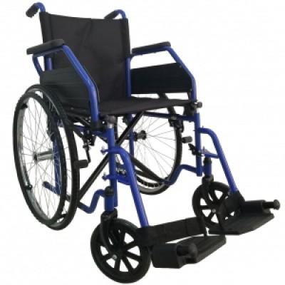 Стандартная инвалидная коляска (синий) OSD-ST