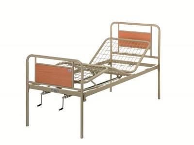 Кровать медицинская (4 секции, металлическая)