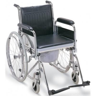 Инвалидная коляска с судном FS681